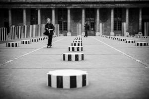 After school at the Palais Royal
