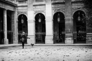 Class at Palais Royal