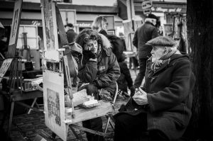 Artists of Montmarte